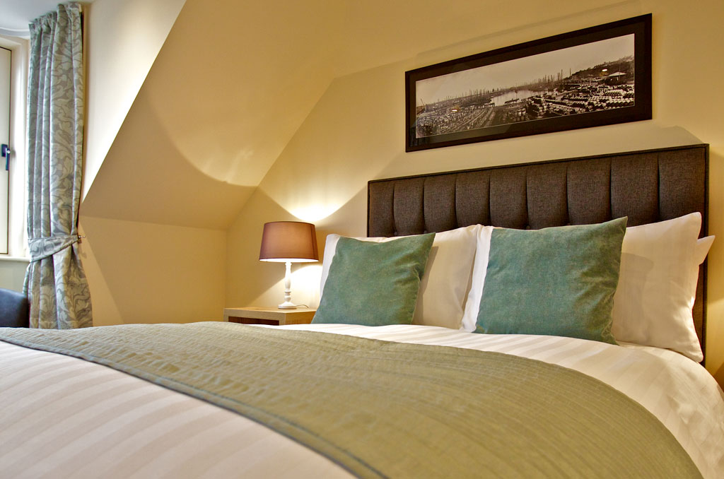 Comfortable bed at Kirkwall Bed and Breakfast
