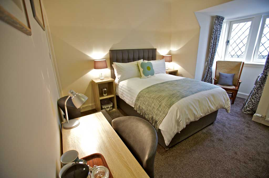 In-room tea and coffee at Kirkwall Bed and Breakfast